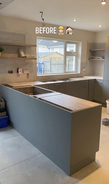 Granite worktops and kitchens